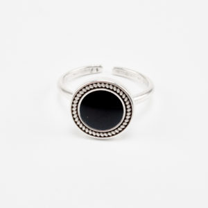 trail silver ring
