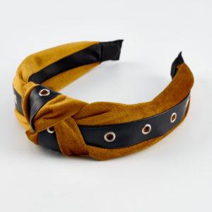 mustard headband velvet by mondjewels