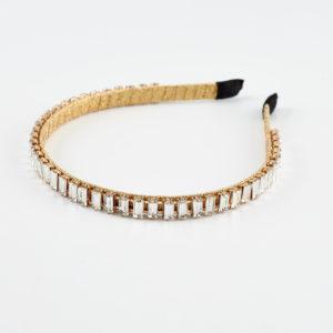 golden glow headband by mond jewels