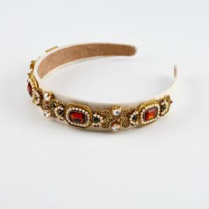 curtsy headband gold by mond jewels
