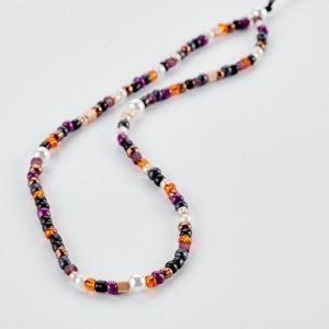 Phone strap με πολύχρωμες χάντρες